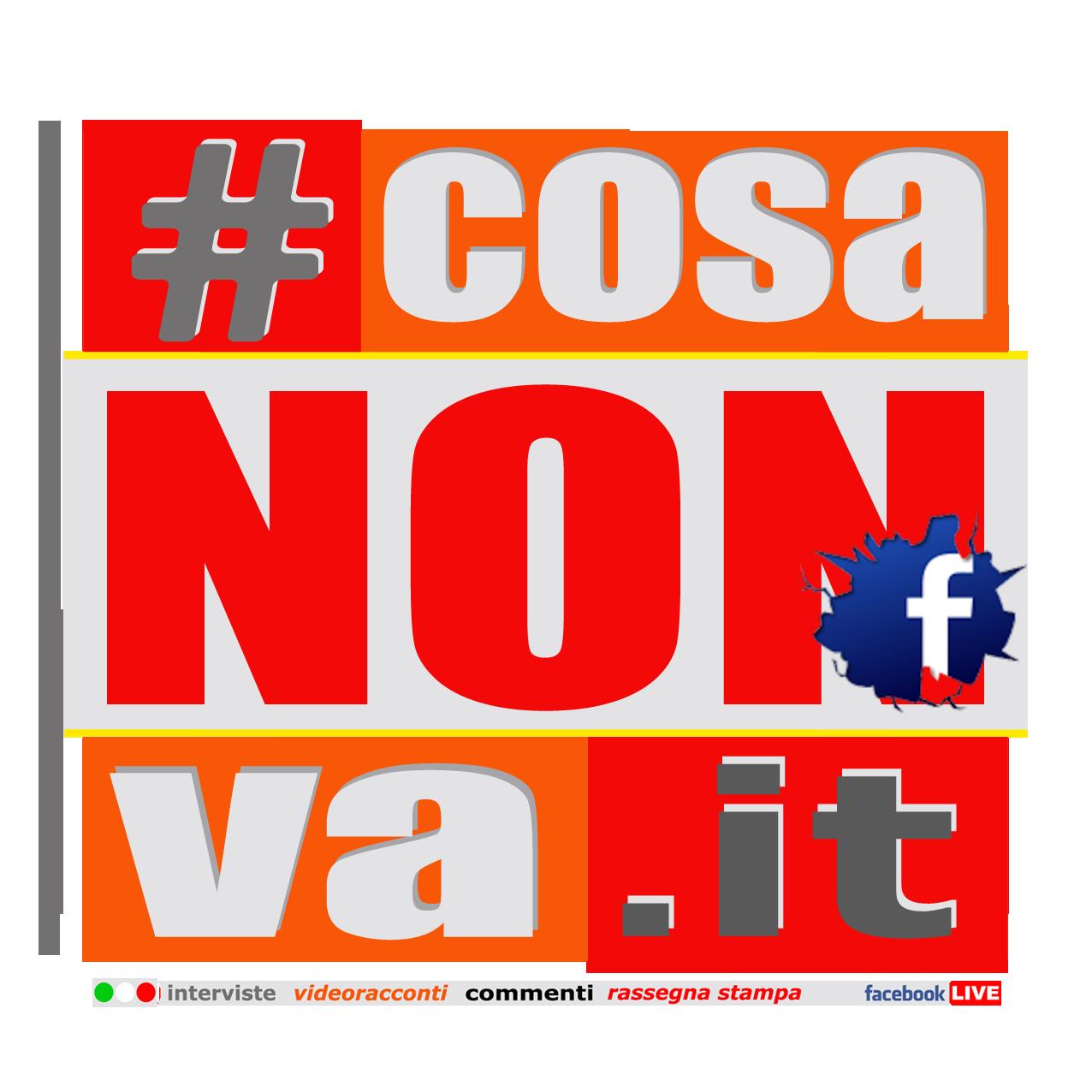 #CosaNonVa