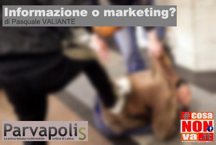 informazione o marketing