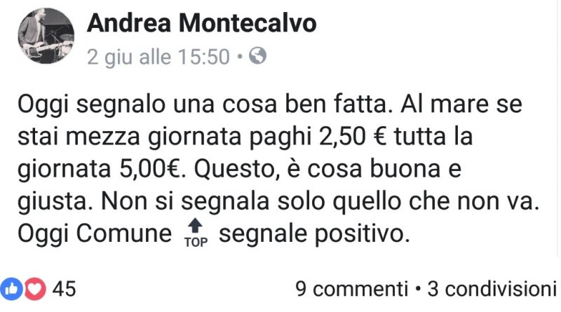 Post Andrea Montecalvo
