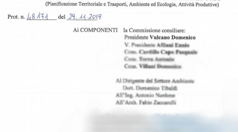 Commissione ambiente, Provincia di Latina