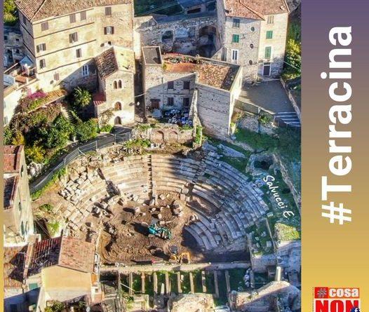 Teatro romano di Terracina cosanonva #cosanonva.it
