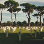 cimitero americano clinton bush berlusconi cosanonva storia tg5 guerra