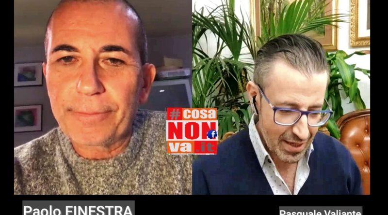 palestre chiuse Pasquale Valiante Paolo Finestra #cosanonva.it www.pasqualevaliante.it covid sport